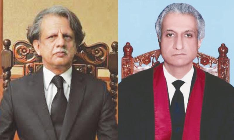 Justice Sheikh A. Saeed / Justice Ijazul Ahsan