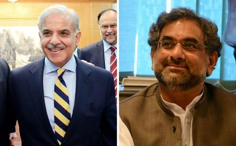Profiles: Shahbaz Sharif and Shahid Khaqan Abbasi