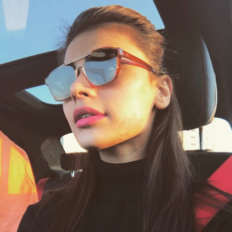 Honey tones and tortoise- shell frames are also in and if you can't decide which colour, get two. Photo - Sadaf Kanwal/Instagram