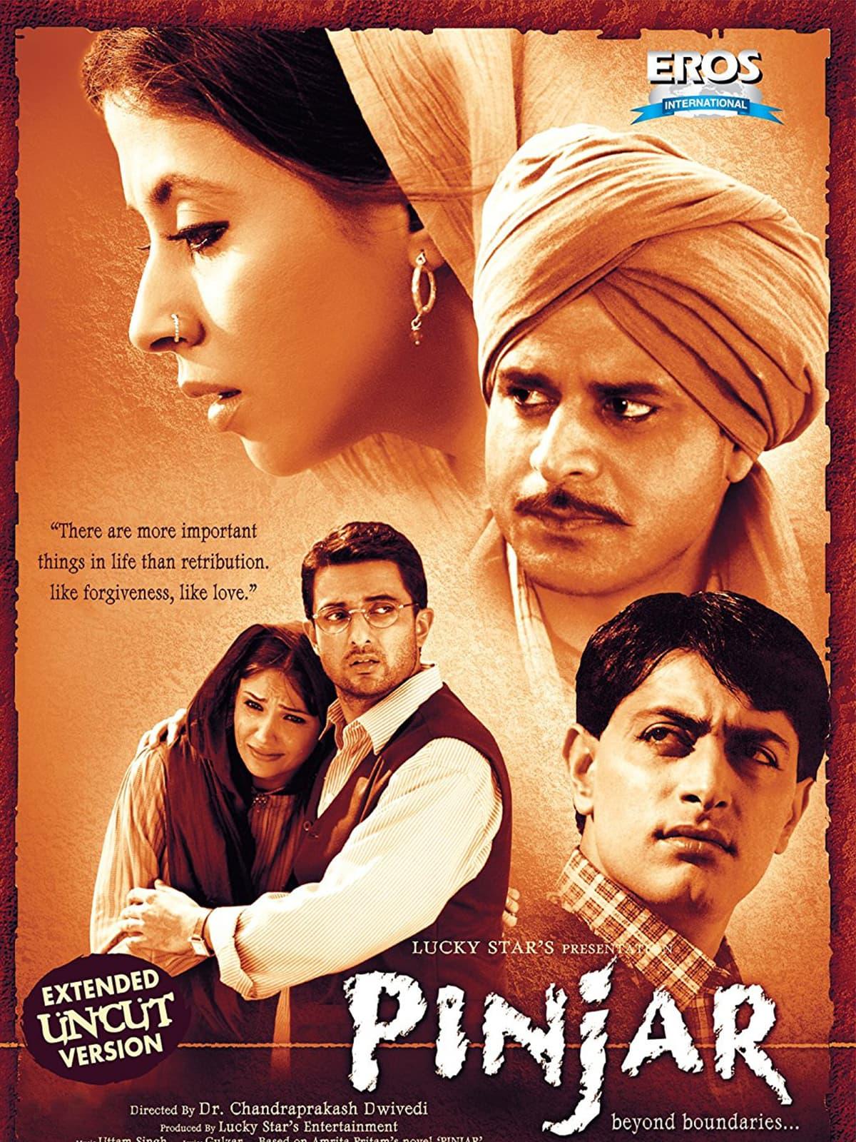 A poster of *Pinjar* (2003) | IMDb