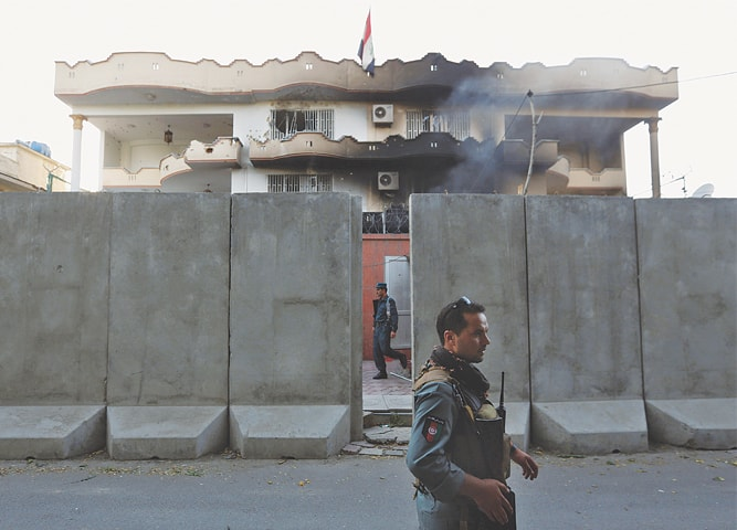 Explosion Reported Near Iraqi Embassy In Kabul