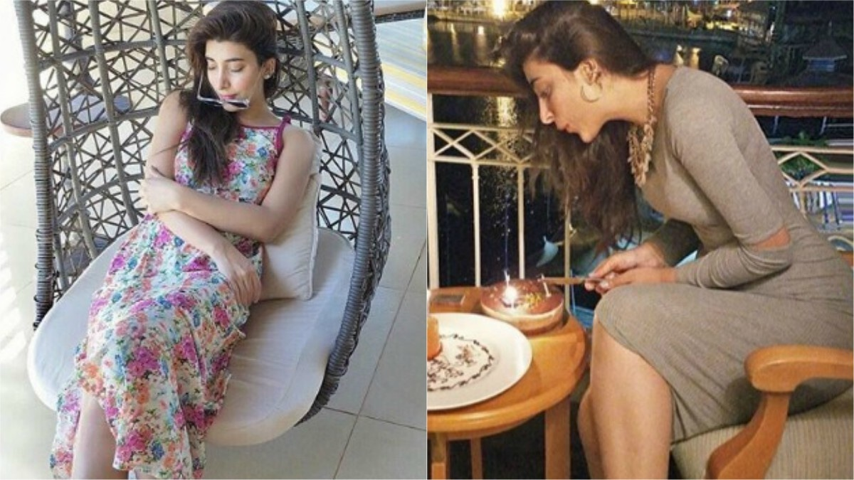 Also it doesn't hurt when you have toned legs like Urwa -- time to hit the gym!
