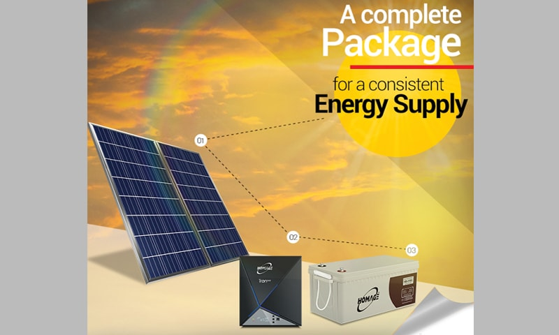 Homage pushes for solar