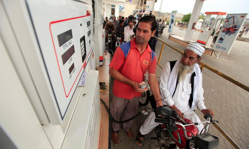 Sales of petrol and high-speed diesel (HSD) generate heavy revenues for the government because of their massive and growing consumption. HSD sales are crossing 800,000 tonnes against the monthly consumption of 700,000 tonnes of petrol.—Reuters file photo