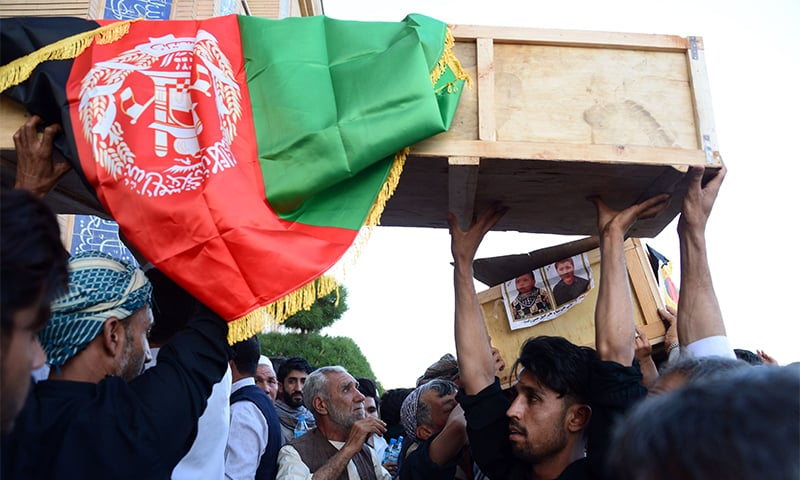 Afghan robotics team captain's father killed in Herat mosque attack