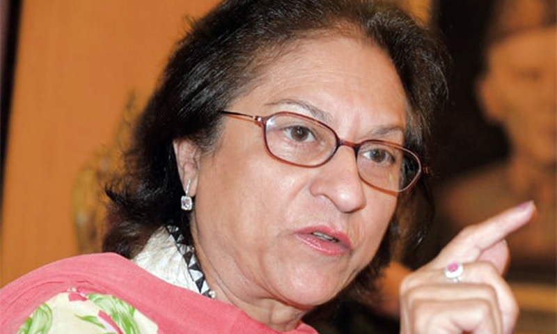 Asma Jahangir lashes out at the powers that be