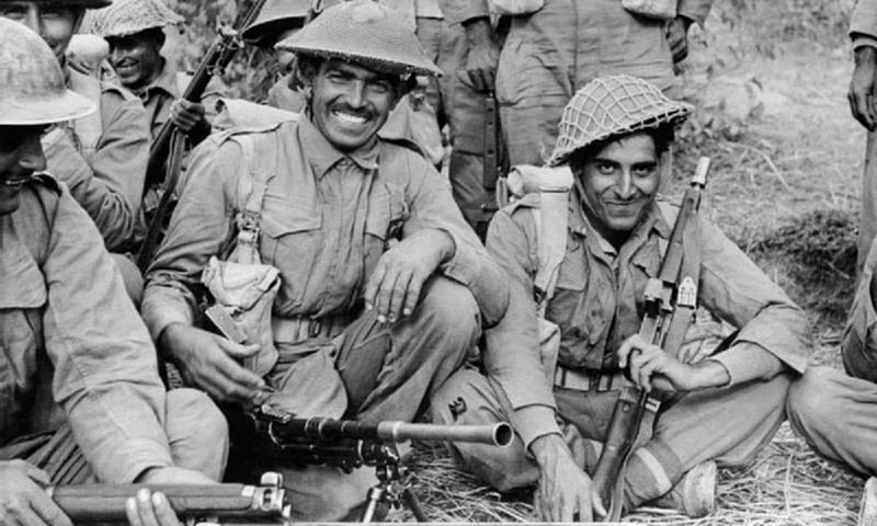 South Asia's most important contribution in WWII was its labour