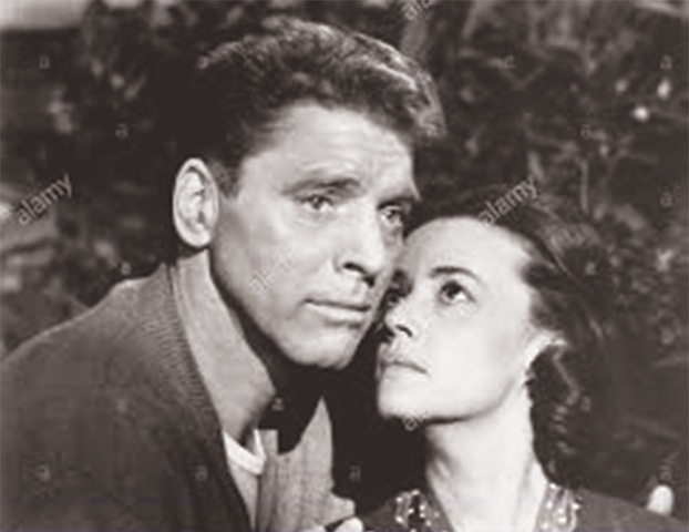 ACTRESS Jeanne Moreau with Burt Lancaster in The Train.