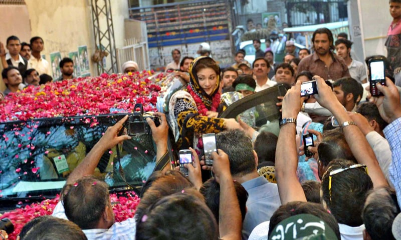 Maryam Nawaz, a woman leading the largest party of Punjab would have been a game-changer for Pakistani politics but for the charges of corruption and money laundering | Tariq Mahmood/White Star