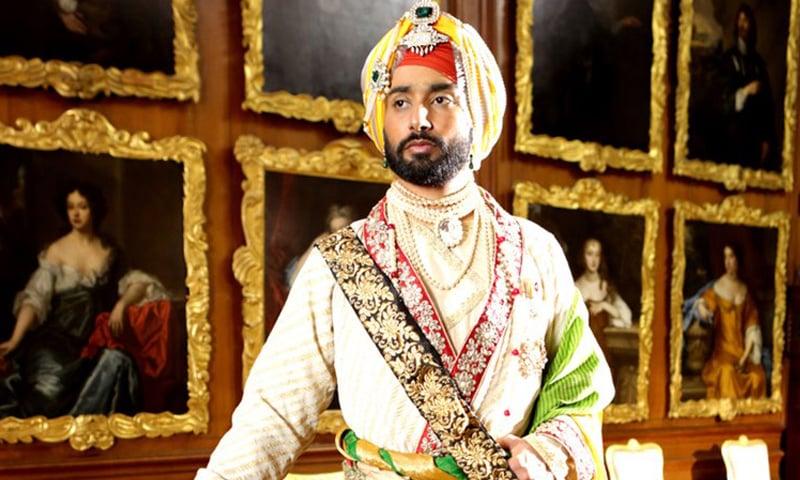 Satinder Sartaaj as the lead in The Black Prince