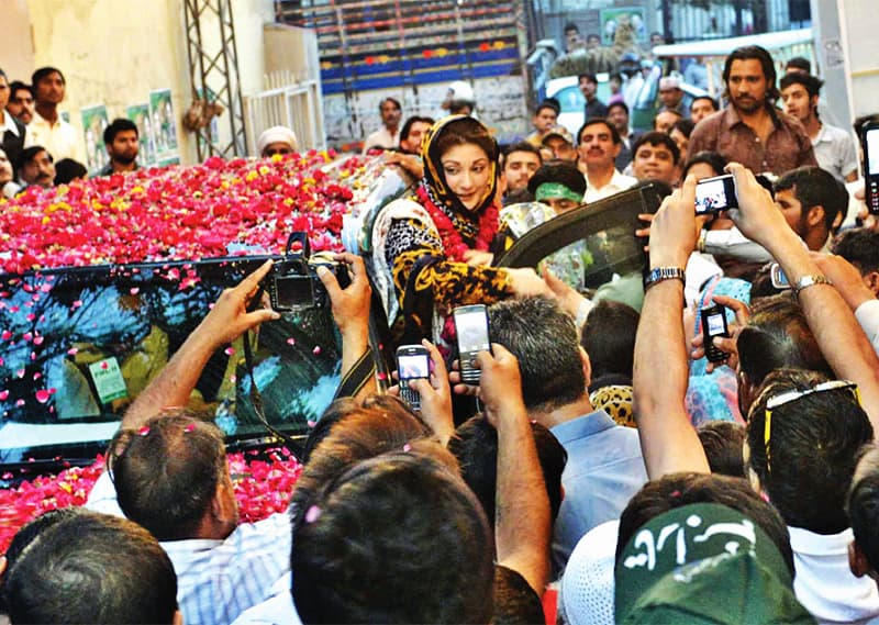 Maryam Nawaz, a woman leading the largest party of Punjab would have been a game-changer for Pakistani politics but for the charges of corruption and money laundering. ─ Tariq Mahmood/White Star