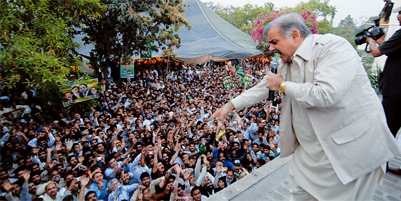 Shahbaz Sharif might also discover that a popular mandate is not enough to keep a PM in the saddle. ─ White Star