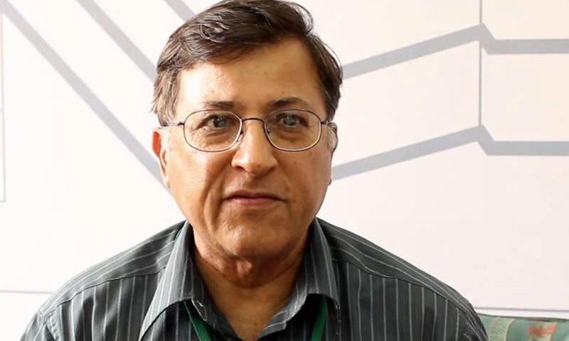 ڈاکٹر پرویز ہود بھائی—فائل فوٹو