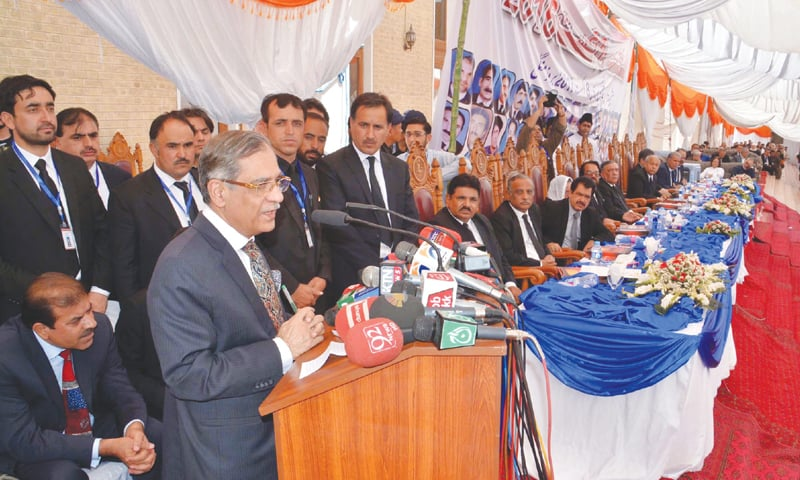 CJ terms terrorism a conspiracy to weaken Pakistan