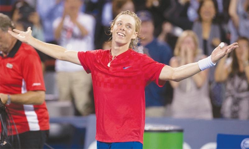 Canadian teenager Shapovalov shocks Nadal in Montreal