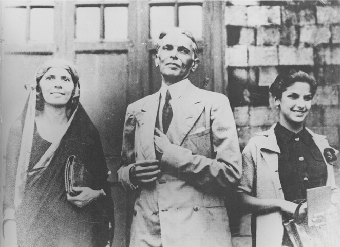 The family Jinnah: Mohammad Ali with his sister Fatima and his only child Dina | Photos from the book