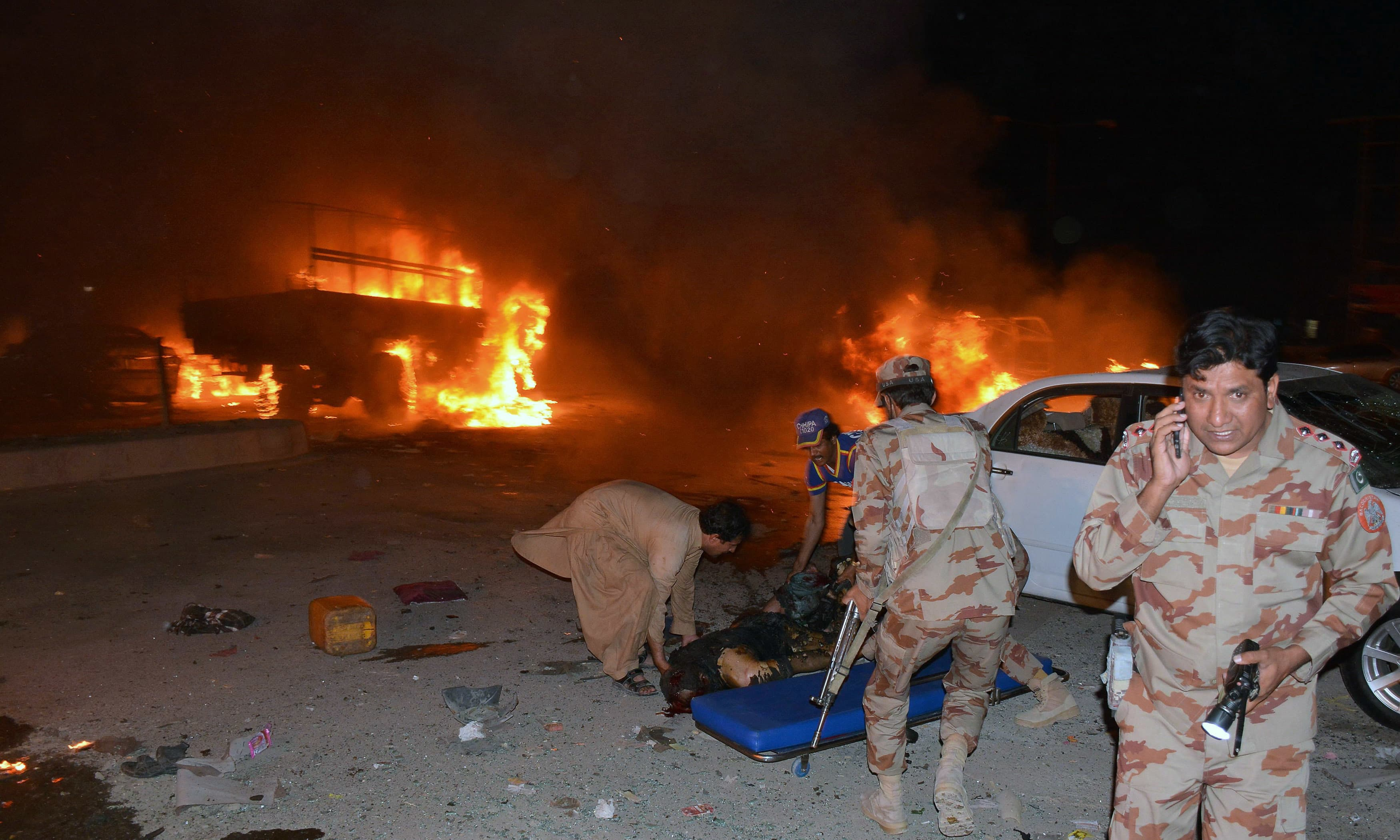 At least 15 dead, 32 injured in Quetta blast