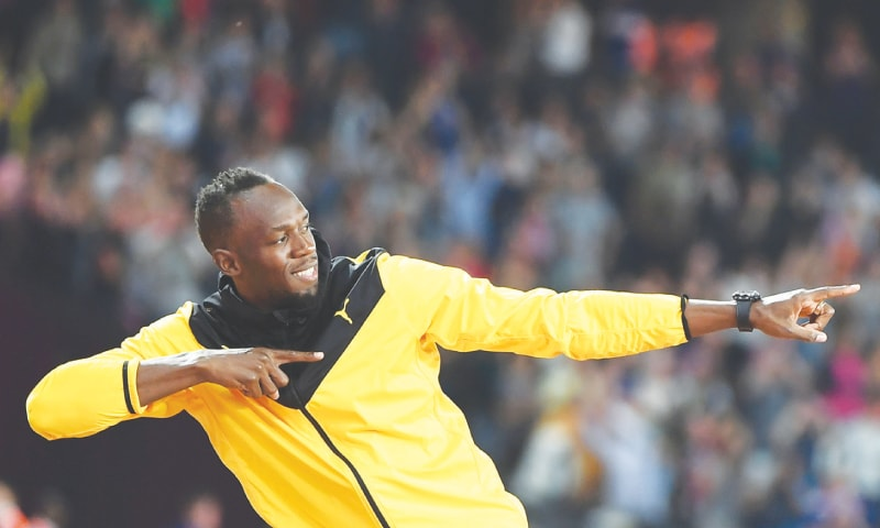 Usain Bolt bids farewell at London