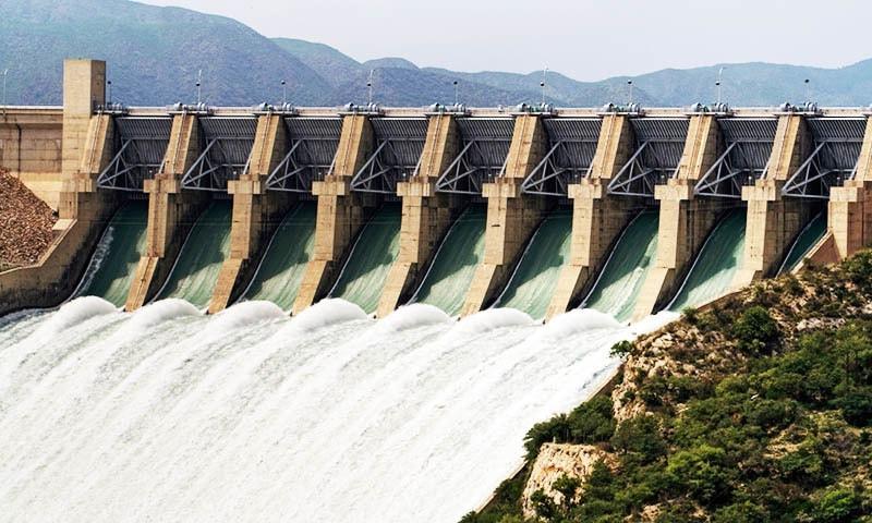 Warsak Dam.