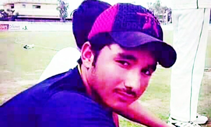 Aspiring cricketer dies in Mardan after being struck by ball on head