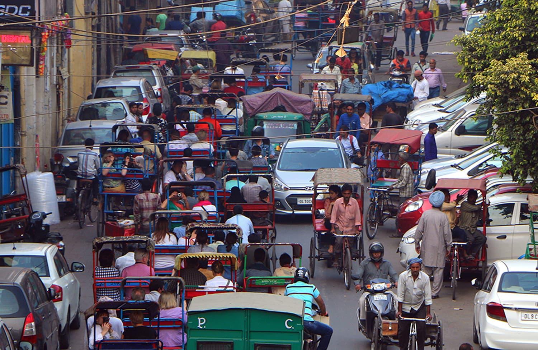 Chandni Chowk, Delhi. Photo credit: Juan Antonio Segal/ Flickr CC