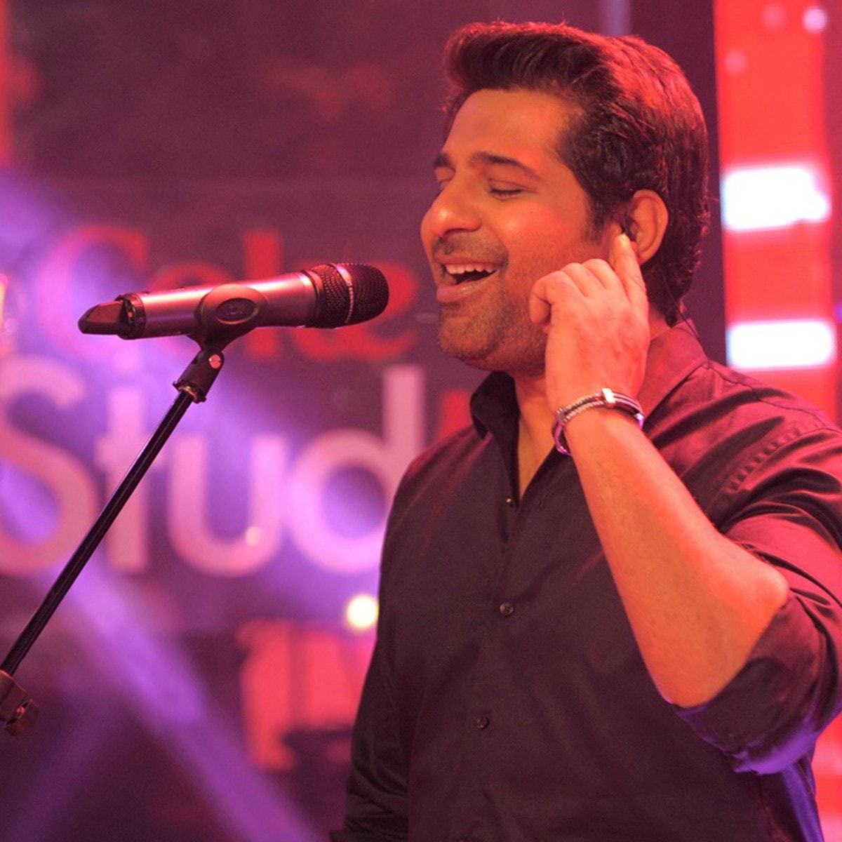 Shuja Haider has been working on his Coke Studio compositions since January!