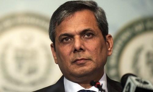 FO spokesman Nafees Zakaria.— AFP/File