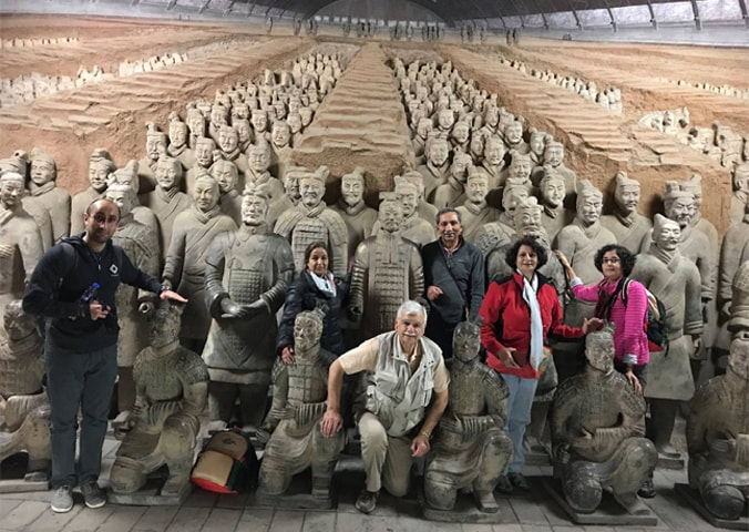 Terracotta Army Museum at Lishan Shaanxi