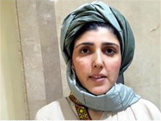 "AAISHA Gulalai wears a traditional turban of the Wazir tribe to the National Assembly on Thursday. The turban is usually worn by tribal elders to signify authority. Quoting Olaf Caroe's The Pathans, she said that people of her tribe were like panthers who liked to hunt alone. ""If you look at me right now, I am all alone. There is no one with me. My family and I are fighting a mafia and party all by ourselves,"" she explained.—INP"