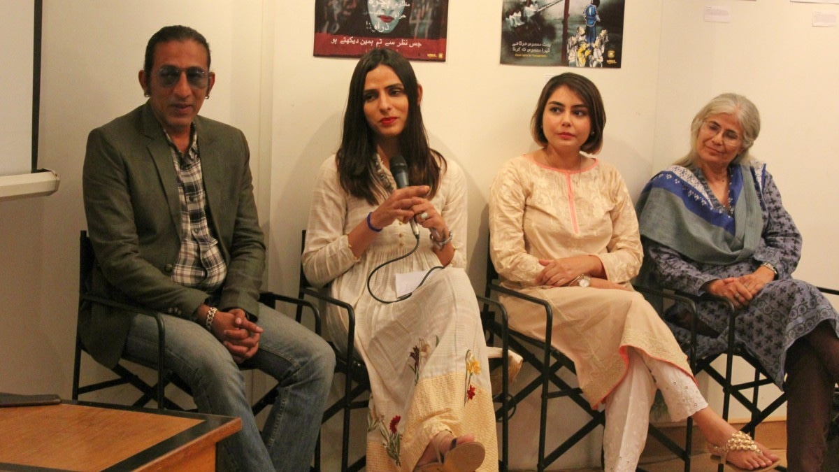 Co-creator/co-writer/illustrator Anain Shaikh said the important thing for her was to get the transgender characters to look just right