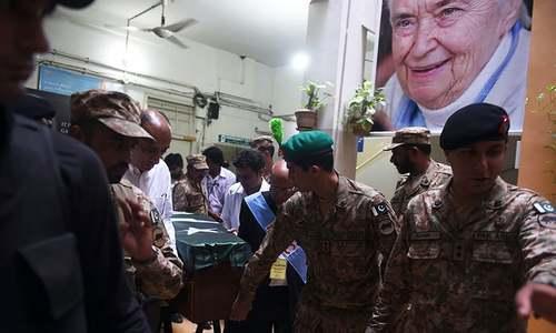 ڈاکٹر روتھ فاؤ کی سرکاری اعزاز کے ساتھ تدفین