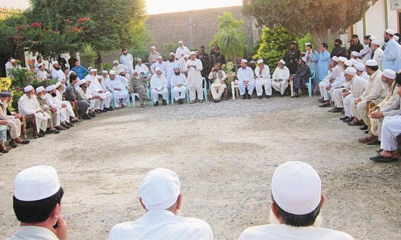 A jirga underway  File photo