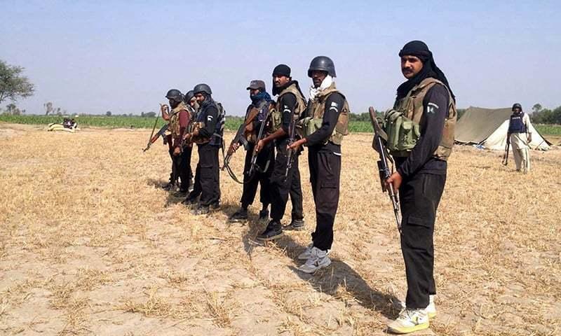 راجن پور: ڈاکوؤں نے 7 پولیس اہلکار اغوا کرلیے