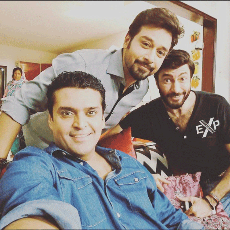 The three brothers Jimmy, Immy and Timmy. Photo: Instagram/ FaysalQuraishi