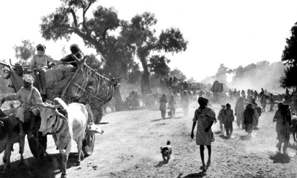 Refugees during Partition | Photo courtesy: Wikimedia Commons