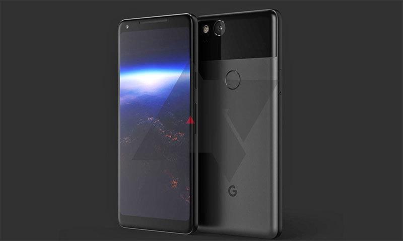 گوگل پکسل 2 ممکنہ طور پر ایسا ہوگا — فوٹو بشکریہ اینڈرائیڈ پولیس