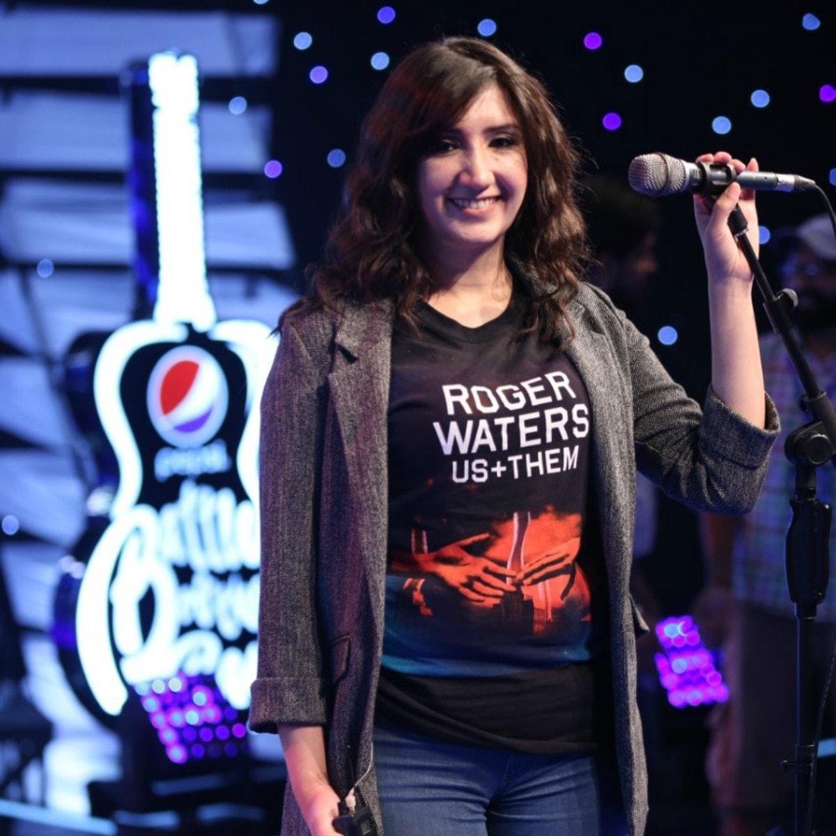 Zeb sang a Nazia Hassan tribute on Pepsi Battle of the Bands this Sunday