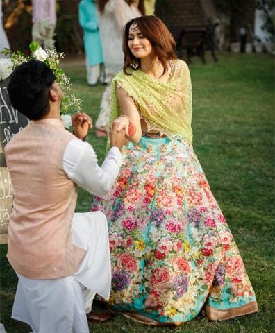 Mohsin Abbas Haider and Hania Aamir