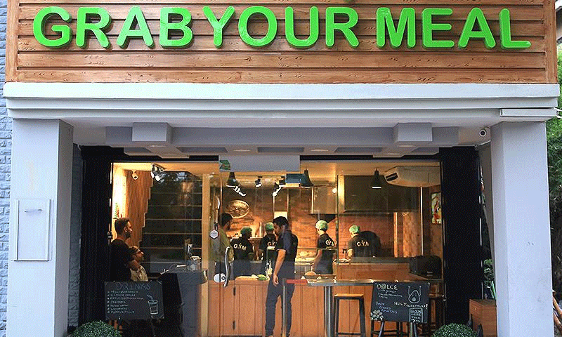 Grab Your Meal is located near Y block market, Lahore. Photo: GrabYourMeal/Facebook