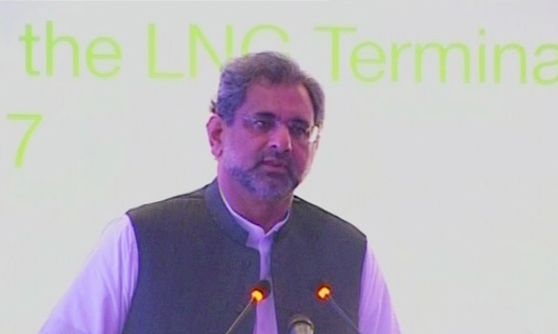LNG is the only solution to Pakistan's energy crisis: PM Abbasi