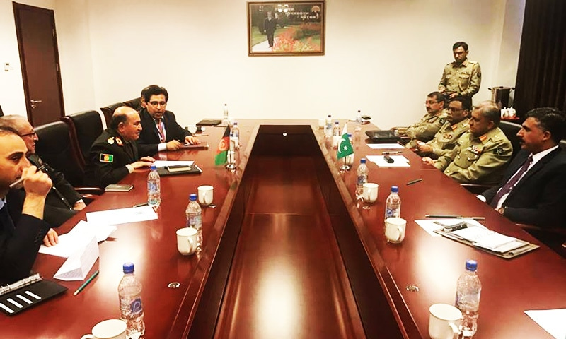Pak, Afghan military leadership agree on forming joint working group