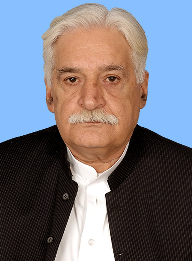 Late PTI MNA Gulzar Khan.— Courtesy: na.gov.pk