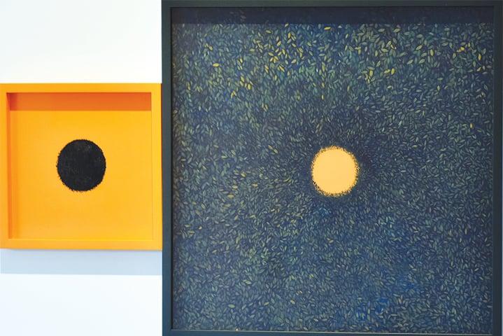 A colour of infinity by Wardha Shabbir