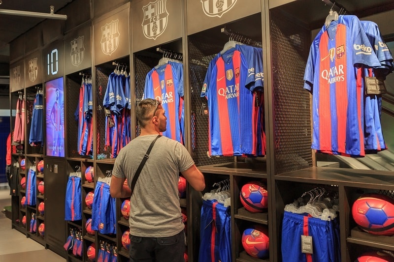fa82bb2f771 Your favourite FC Barcelona player s jersey should be on the top of the  list of merchandise you must have.