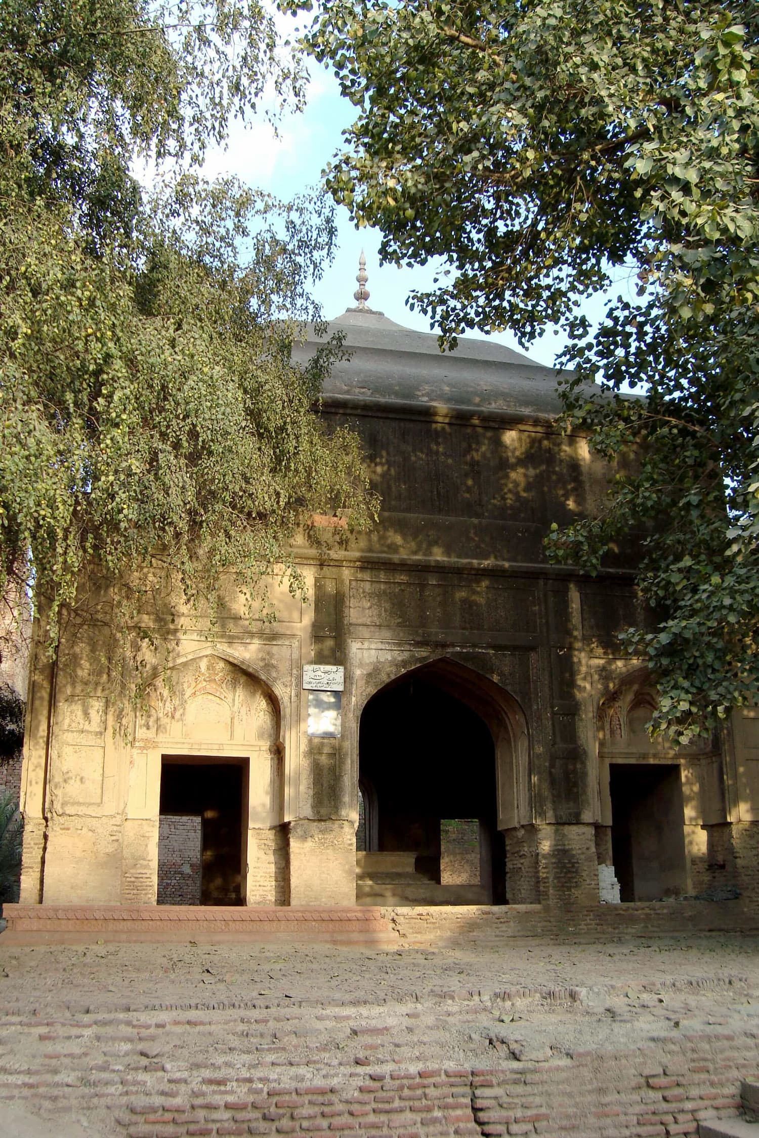 The purported tomb of Zeb-un-Nisa in Lahore.