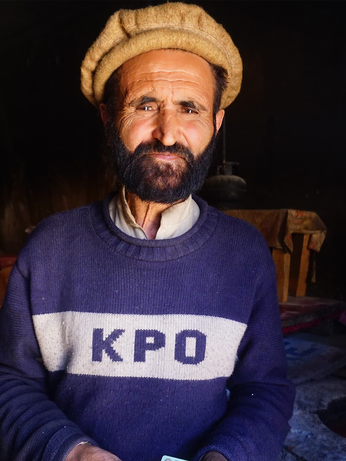A Wakhi man from Ishkoman Valley in Gilgit-Baltistan