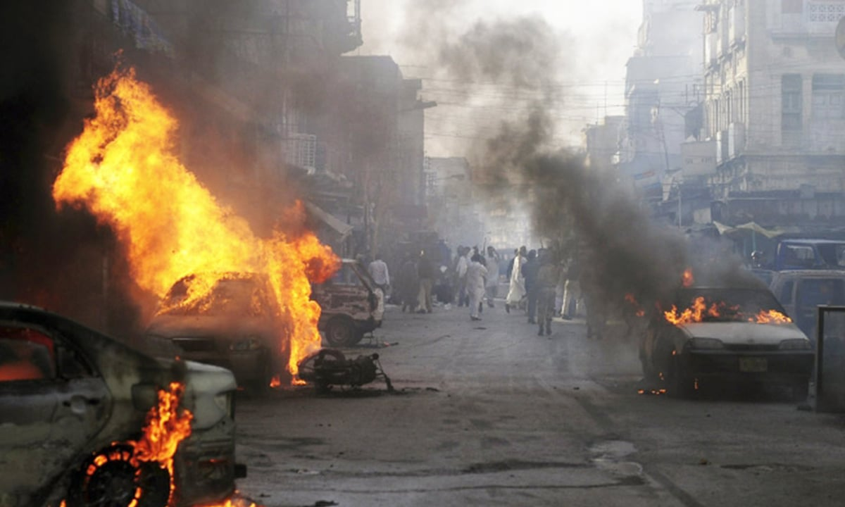 Analysing violence in Karachi