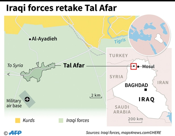 Iraq's Prime Minister says Tal Afar is 'fully liberated' from ISIS