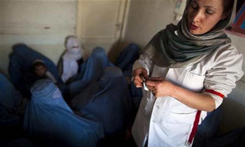 Where are Balochistan's female doctors?