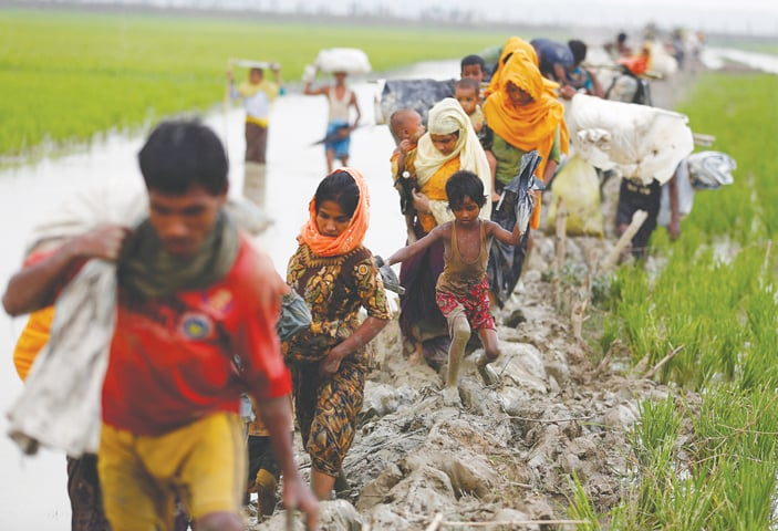 Suu Kyi, Myanmar face chorus of anger over Rohingya crisis